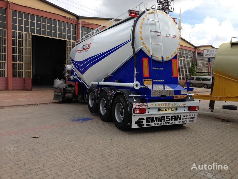 цементовоз EMIRSAN Manufacturer of all kinds of cement tanker at requested specs