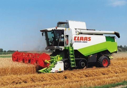 комбайн CLAAS LEXION 460 EVOLUTION