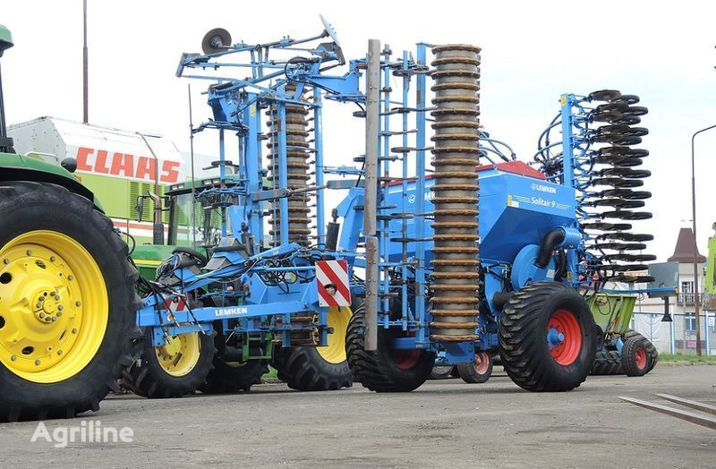 посевной комплекс LEMKEN Solitair 9/600 + KA-DS + Quarz 7/600 A