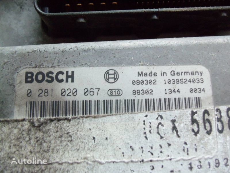 блок управления  MAN EDC 480PS D2676LF05 ECU BOSH 0281020067 EURO4, 51258037564, 51258037778, 51258037832, 51258037990, 51258037674, 51258337008 для тягача MAN TGX