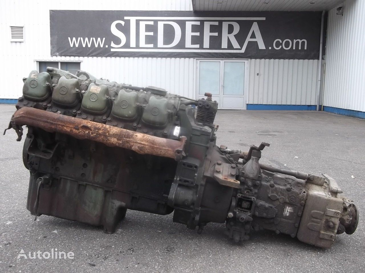двигатель для грузовика MERCEDES-BENZ OM 403 Engine V10 + ZF Gearbox,10 pieces in stock