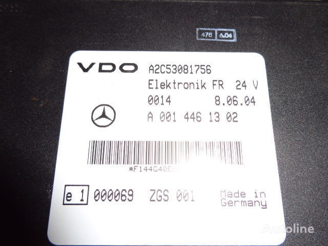 блок управления MERCEDES-BENZ MP2, MP3, MP4, FR control unit ECU 0014461302, 0004465502 для тягача MERCEDES-BENZ Actros